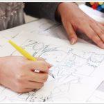 キャラクターデザイン系の授業